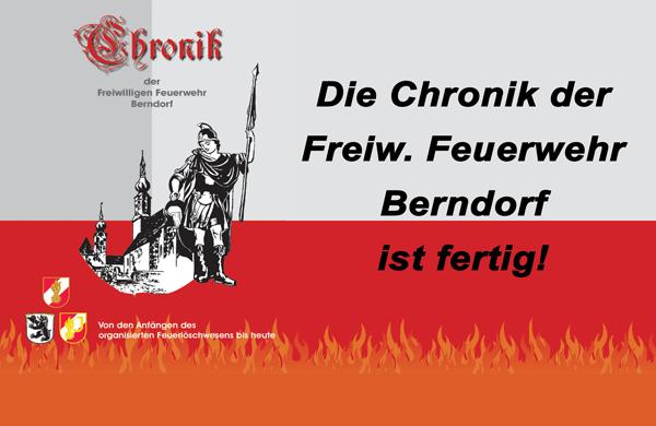 Feuerwehr Chronik ab sofort erhältlich